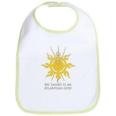 My daddy is an Atlantean god! Bib