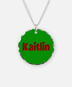 Kaitlin Green and Red Necklace