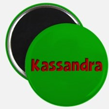Kassandra Green and Red Magnet