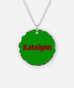 Katelynn Green and Red Necklace