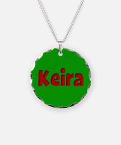 Keira Green and Red Necklace