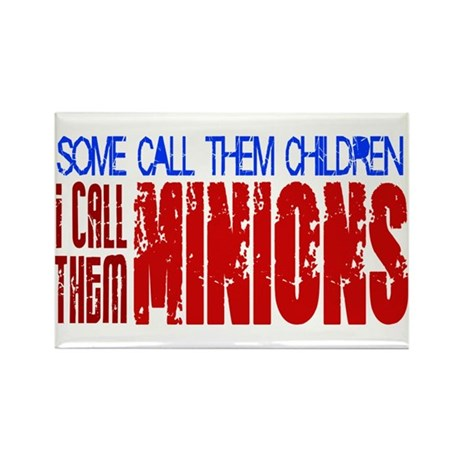 Children Are Minions Design Rectangle Magnet