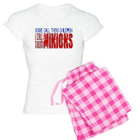 Children Are Minions Design Women's Light Pajamas