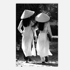 Vintage Schoolgirls Postcards (Package of 8)