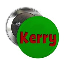 "Kerry Green and Red 2.25"" Button"