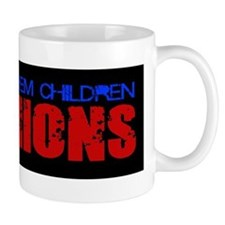 Children Are Minions Design Mug