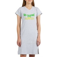 No Talking During Castle Women's Nightshirt