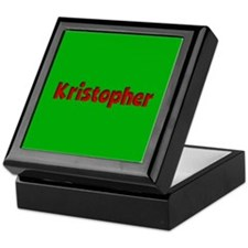 Kristopher Green and Red Keepsake Box