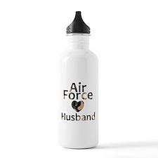 Air Force Husband Camo Water Bottle