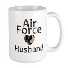 Air Force Husband Camo Mug
