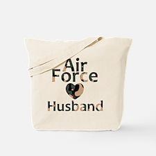 Air Force Husband Camo Tote Bag