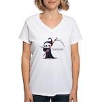 Grim rules Women's V-Neck T-Shirt