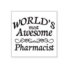 """Awesome Square Sticker 3"""" x 3"""""""