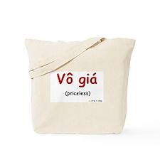 Priceless (Vietnamese) Tote Bag