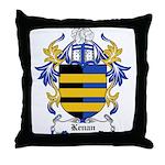 Kenan Coat of Arms Throw Pillow