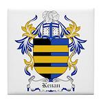 Kenan Coat of Arms Tile Coaster