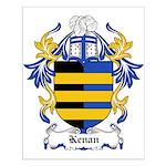 Kenan Coat of Arms Small Poster