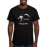 Im with Grim Men's Fitted T-Shirt (dark)