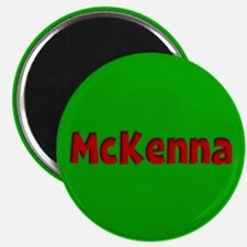 McKenna Green and Red Magnet