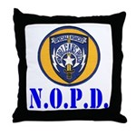 NOPD Specfor Throw Pillow