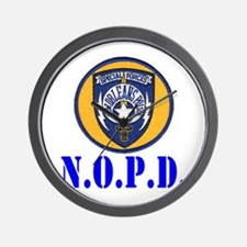 NOPD Specfor Wall Clock