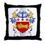 Keen Coat of Arms Throw Pillow