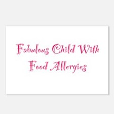 Fabulous Child With Food Allergies Postcards (Pack