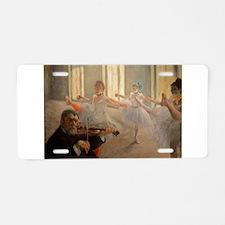Famous Paintings: The Ballet School Aluminum Licen
