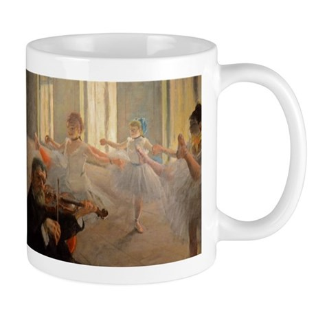 Famous Paintings: The Ballet School Mug