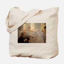 Famous Paintings: The Ballet School Tote Bag