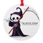 Grim rules Round Ornament