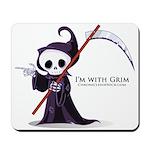 Grim rules Mousepad