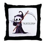 Grim rules Throw Pillow