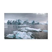 Icebergs - Car Magnet