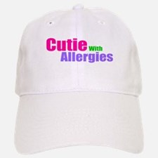 Cutie With Allergies Baseball Baseball Cap