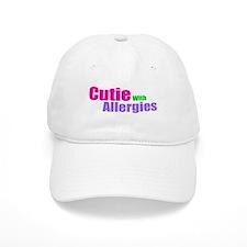 Cutie With Allergies Baseball Cap