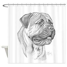 Mastiff Shower Curtain