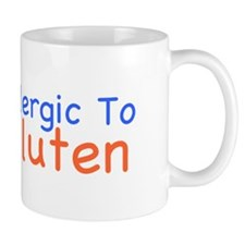 Allergic To Gluten Mug