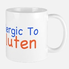 Allergic To Gluten Mug