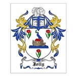 Jolly Coat of Arms Small Poster