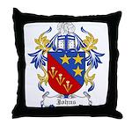 Johns Coat of Arms Throw Pillow
