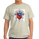Johns Coat of Arms Ash Grey T-Shirt