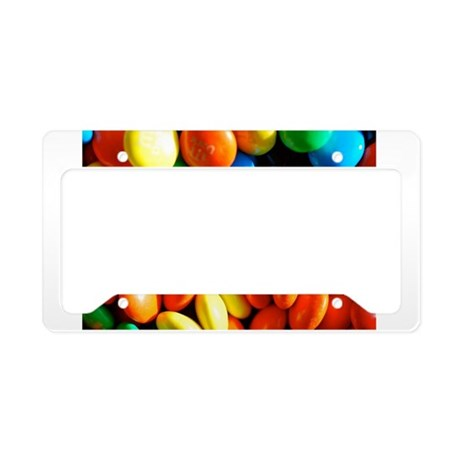 Sweet Candy License Plate Holder