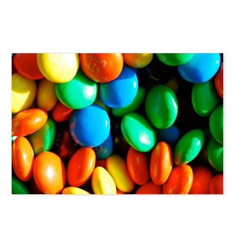 Sweet Candy Postcards (Package of 8)
