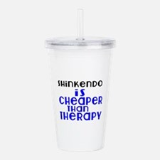 Shinkendo Is Cheaper T Acrylic Double-wall Tumbler
