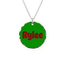 Rylee Green and Red Necklace