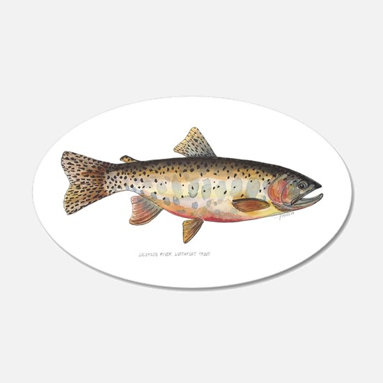 Colorado River Cutthroat Trout Wall Sticker