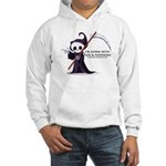 Hanging with Grim Hooded Sweatshirt