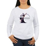 Hanging with Grim Women's Long Sleeve T-Shirt