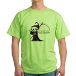 Hanging with Grim Green T-Shirt